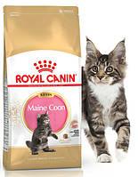 Корм для котят породы Мейн-кун Royal Canin Maine Coon Kitten Основное питание, От 3-х месяцев, Коты/кошки, Супер-премиум, Royal Canin, Франция, 0.4 кг, Сухие корма