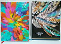 Деловой дневник А5 320 листов, твердая обложка, ламинация, линия, ассорти