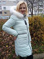 Теплая Зимняя Куртка модная 42-50р , доставка по Украине