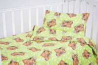 Постельное бельё  для малышей 110*140 хлопок (2151) TM KRISPOL Украина