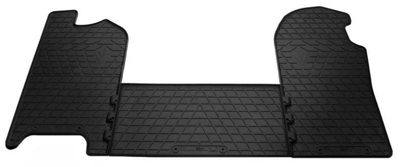 Коврики в салон для Iveco Daily IV 06- (design 2016) - (комплект - 3 шт) 1035013