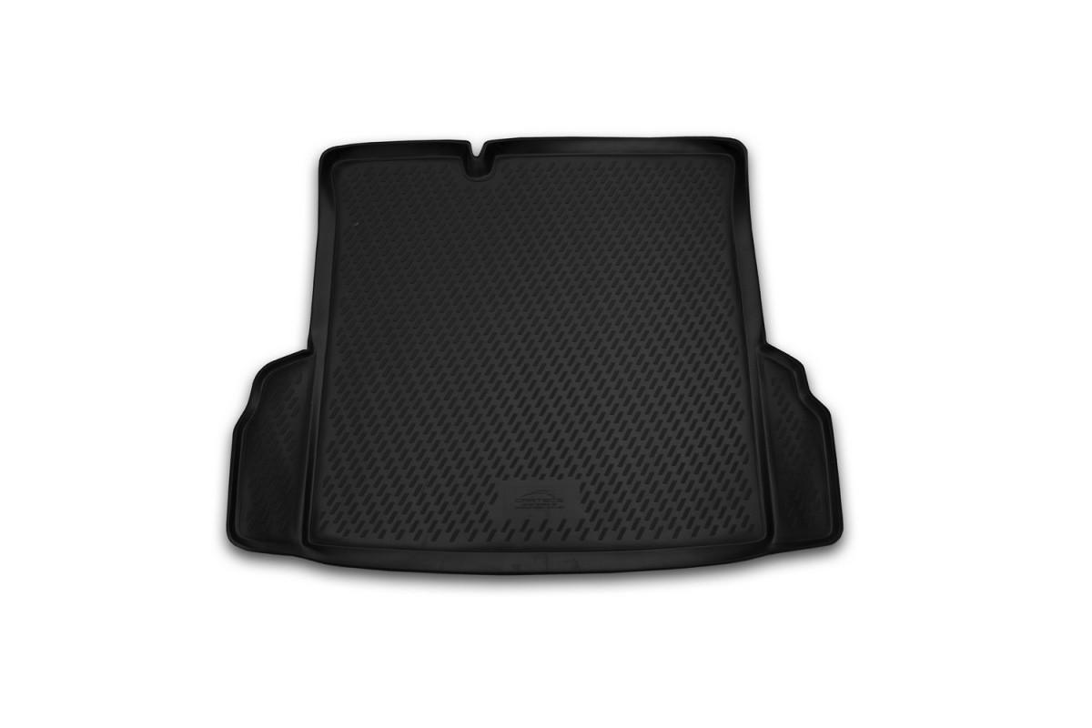 Коврик в багажник для Chevrolet Cobalt 2013-> сед. (полиуретан)  CARCHV00038
