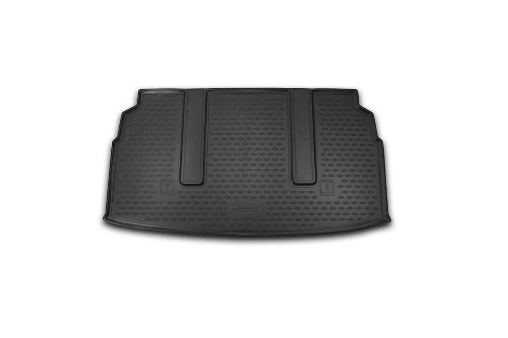 Коврик в багажник для SsangYong Stavic 2013-> мв.(полиуретан)  NLC.61.04.B14
