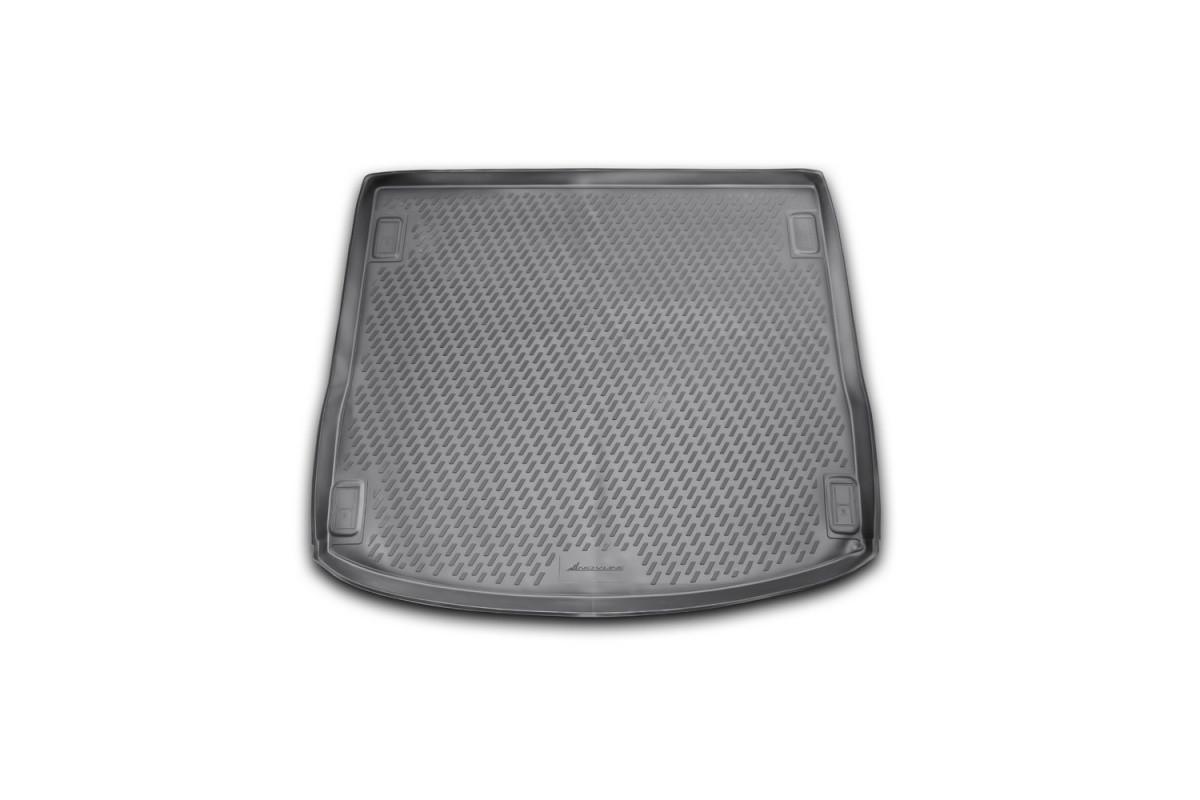 Коврик в багажник для Ford Focus 3 04/2011-> ун. (полиуретан)  CARFRD00004