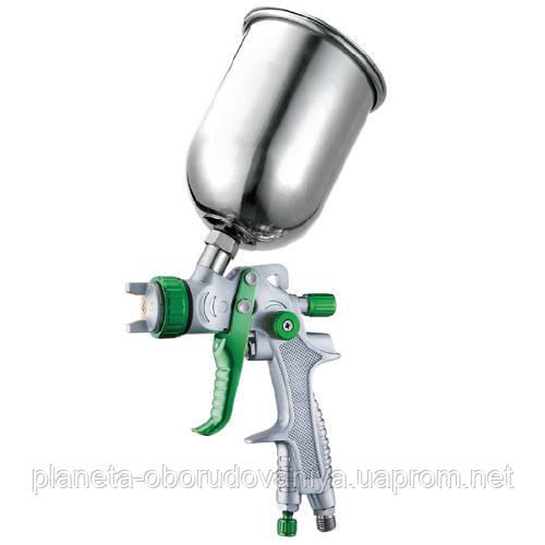 Краскопульт пневматический тип LVLP верхний металлический  бачок, диаметр форсунки-1,4мм  AUARITA   L-897-1.4M