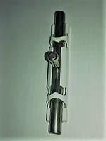 Шпингалет большой никель 15х100 Крашеный корпус