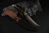 """Охотничий нож ручного изготовления """"Козырный"""", дамасск (наличие уточняйте)"""