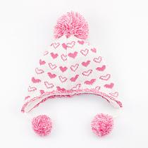 Детская флисовая шапка для девочки