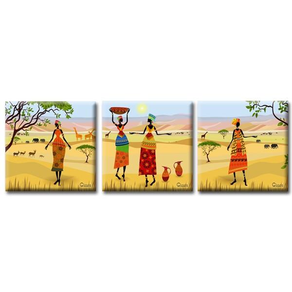 Картины на холсте Glozis Модульная Картина Glozis Oasis