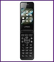 Телефон Sigma mobile X-Style 28 Flip (BLACK). Гарантия в Украине 1 год!