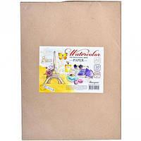 Бумага для акварели А2, 200г/м, 20 листов