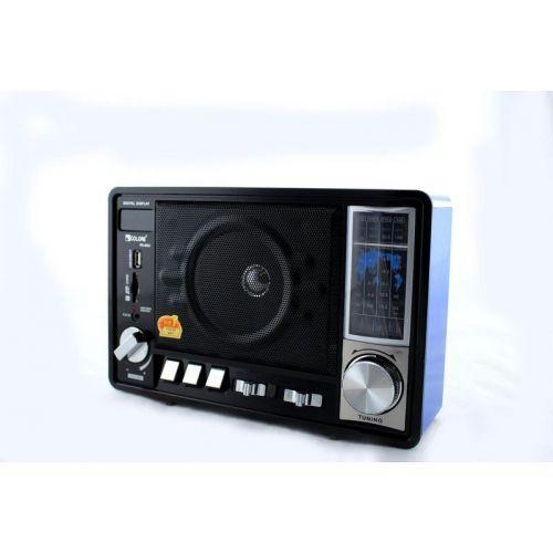 Радіоприймач колонка MP3 Golon RX-950 Wooden