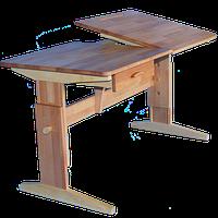 Стол письменный КИНД УНИВЕРСАЛ П 116 (60 х 120 см, бук, 7-99 лет)