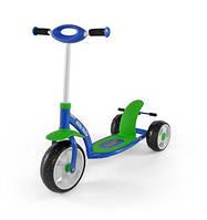 703 Самокат Milly Mally Scooter (Active) (синий с зеленым(Blue Green))