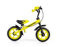 702 Беговел Milly Mally Dragon з гальмом (жовтий(Yellow))