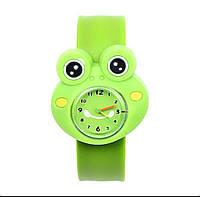 Детские силиконовые часы 100-29 Лягушка