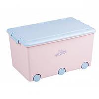 907 Ящик для игрушек Tega Rabbits KR-010 (розовый/голубой(pink/blue))