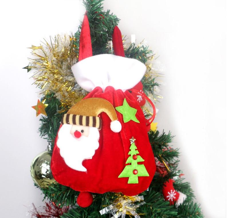 Мешочек новогодний для подарков