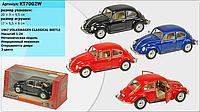 """Мелаллическая машинка Kinsmart KT7002W """"1967 Volkswagen Classical Beetle"""""""