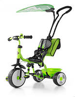 7012 Велосипед Boby Deluxe 2015 з підніжкою ТМ Milly Mally (зелений(Green))