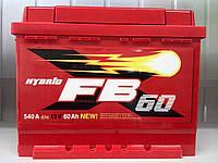 Акумулятор автомобільний 60 FB Standart