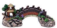 Декор для аквариума, мостик