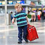 Детский дорожный чемодан - отличный подарок на Новый Год или Рождество!