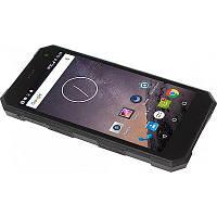 ВЛАГОЗАЩИТНЫЙ смартфон 5 ДЮЙМОВ черный /защита от пыли/водонепроницаемый/противоударный телефон/СИГМА/