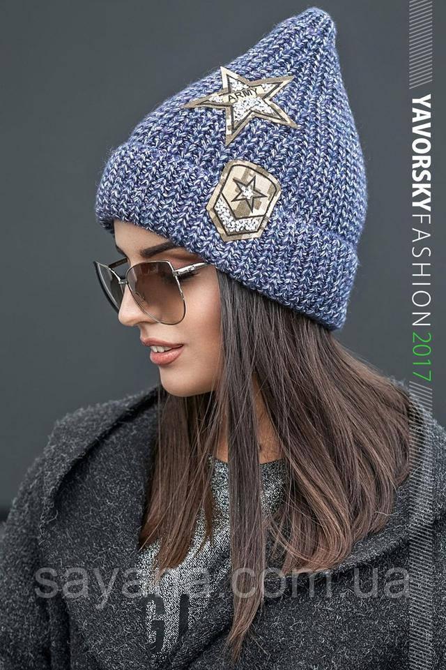 женская модная шапка