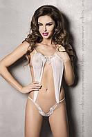 Эротический боди комбинезон Athena Body white