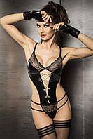 Женское эротическое боди Agawa Body black