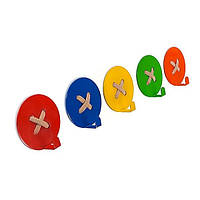 Вешалка настенная Glozis Button (разные цвета)