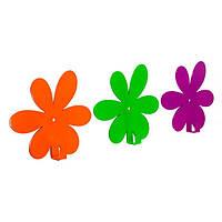 Вешалка настенная Glozis Flower (разные цвета)