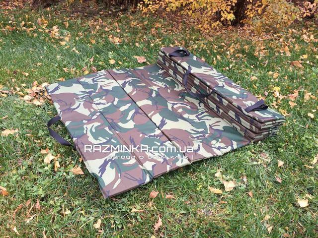 Военный каремат складной, коврик туристический складной, каремат складной, каремат бундесвер