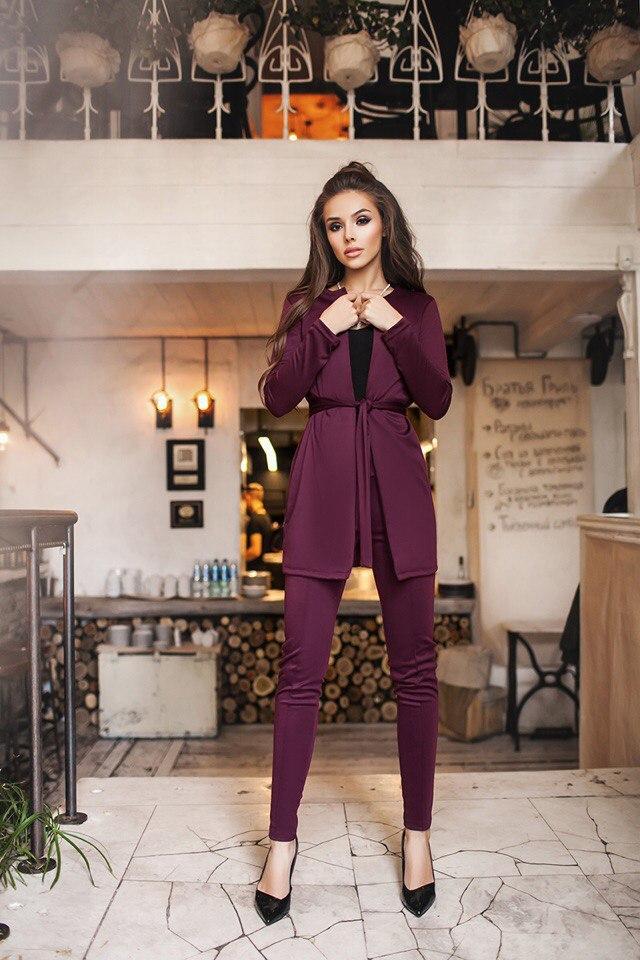 8fdecb8c175 Женский костюм двойка ( кардиган и лосины ) - ShopStyle магазин одежды от  производителя. в