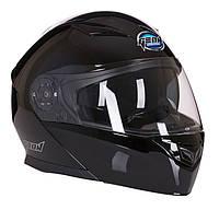 Шлем GEON 950 Модуляр с очками TOUR Black - XS
