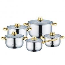 Набор индукционной посуды 10 пр. Maestro MR 2006