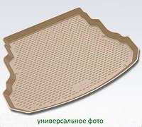 Коврик в багажник для Infiniti JX 2012-2013/QX60 2013-> кросс. длин. (полиуретан бежевый)  999TLL50BG
