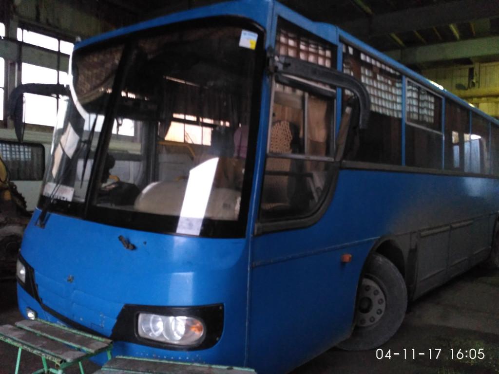 Изготовливаем и устанавливаем лобовое стекла на автобус МАРЗ 5277-01