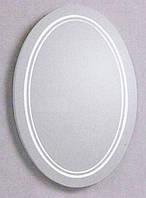 La Perla зеркало настенное 850*650, подсветка, овальное