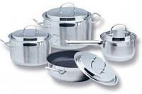 Набор индукционной посуды 9 пр. AURORA AU 510