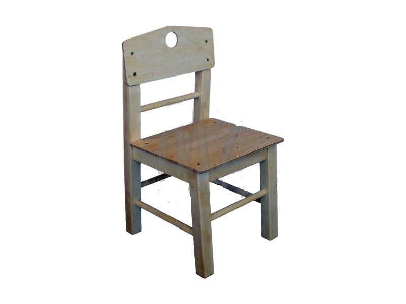 Детский стульчик 34 см КИНД ДС 103 ( береза, от 130-145 см)