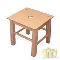 Детский стульчик 34 см КИНД ХОКЕР ДС 106 ( береза, от 130-145 см)