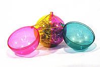 Елочный шар новогодний, пластмасса (без декора)