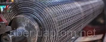 Сетка сварная металлическая 12,5х12,5х0,6мм