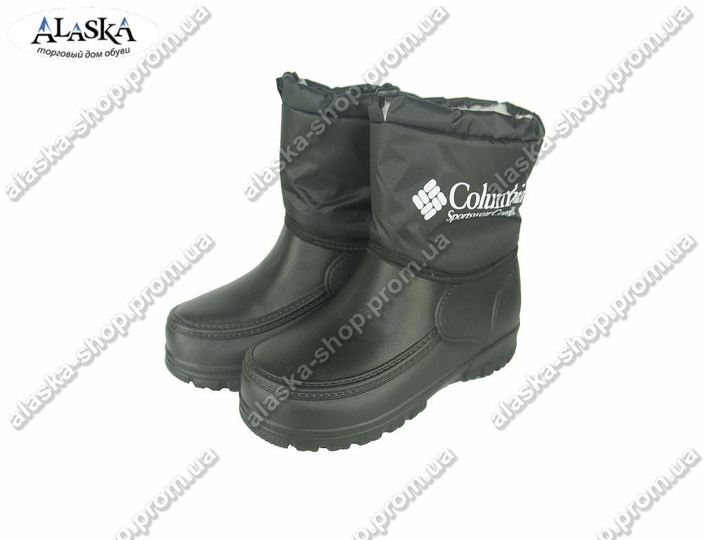 Мужские ботинки (Код:  ботинки КЛ черные )