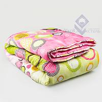Одеяло гипоаллергенное цветное, УЮТ (силикон, поликоттон)