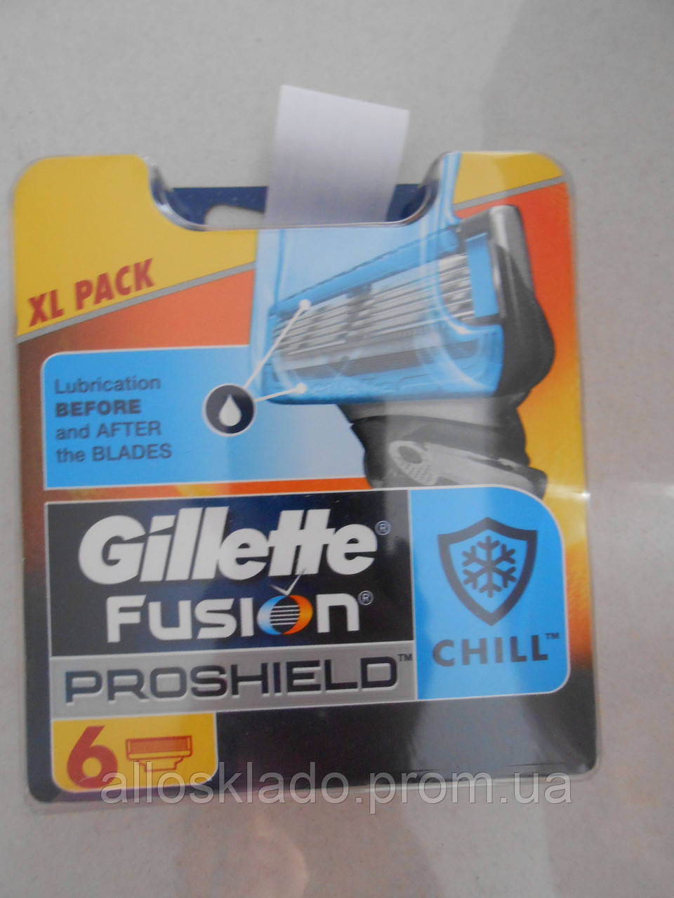 Сменные кассеты Gillette Fusion PROSHIELD 6 шт