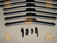 Щетка стеклоочистителя бескаркасная 26/650мм. (с адаптерами) 1шт (пр-во Tempest Тайвань)