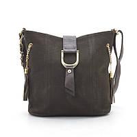 Женская сумка-клатч 956 т. коричневая